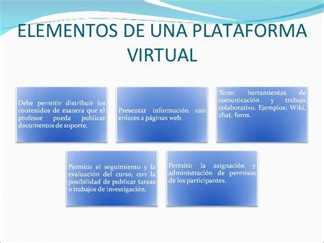 plataforma virtual plataformas virtuales