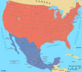usa and mexico map what elections would look like in a mexico united states