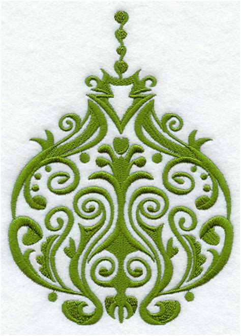 damask christmas ornaments princess decor