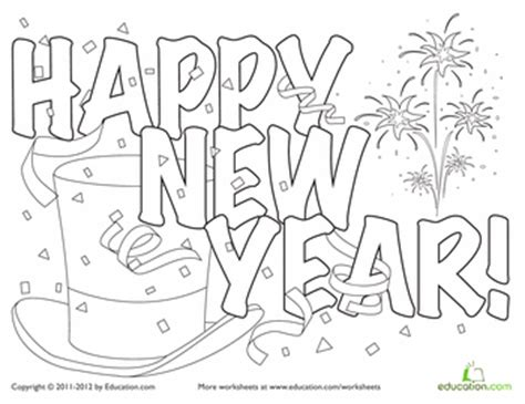 2016 new years eve coloring pages new year coloring page new year s worksheets and