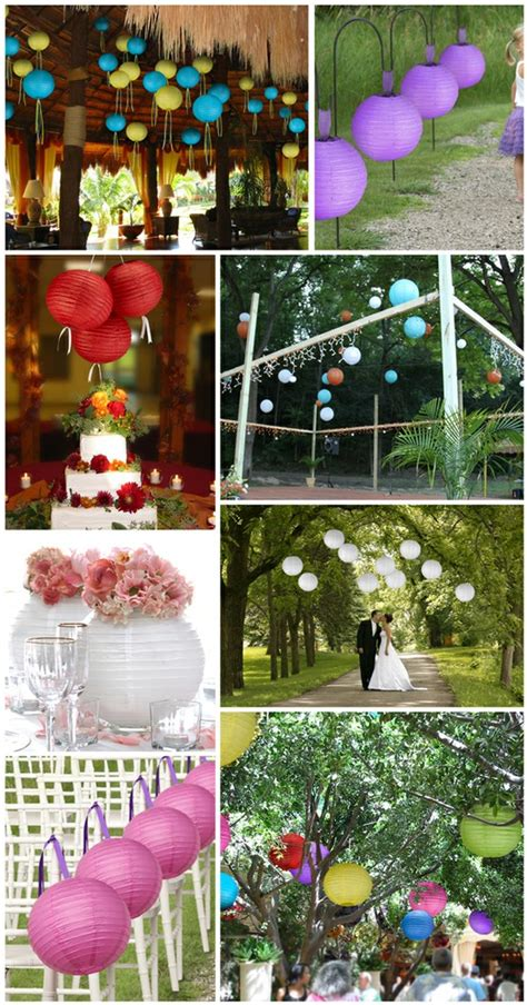 Paper Lantern Ideas - wedding d 233 cor unique ideas for whimsical wedding d 233 cor