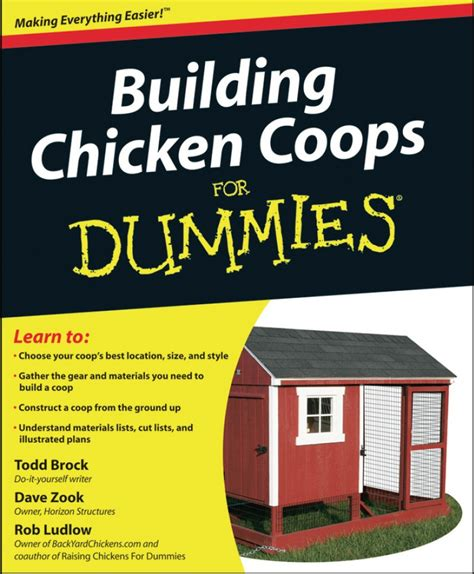 home design for dummies building chicken coops for dummies book chicken coop