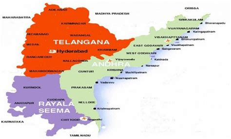 Andhra Pradesh Search Map Shows Telangana Villages In Andhra Pradesh