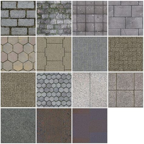 tile pattern sketchup sketchup texture texture outdoor paving stone