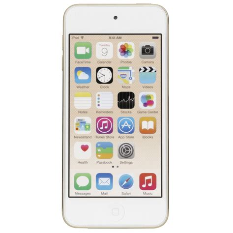 Apple Ipod Touch 6 32gb Protable Player Gold apple ipod touch gold 32gb 6 generation mp3 players photopoint