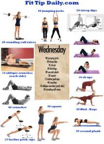 home exercise routine fit tip daily