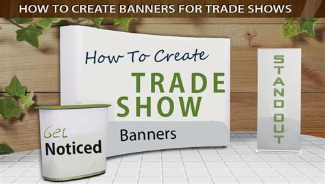 table banners for trade shows how to create banners for trade shows 5 must see tips