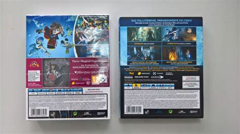 Kaset Ps4 Rise Of The Limited Edition ps4 kingdom hearts hd ii 8 limited edition and rise of the 20th anniversary