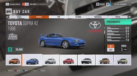 forza horizon  ultimate edition complete car list