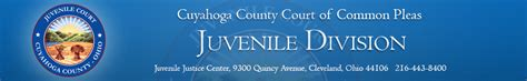 Cuyahoga County Juvenile Court Search Probation Services Cuyahoga County Juvenile Court