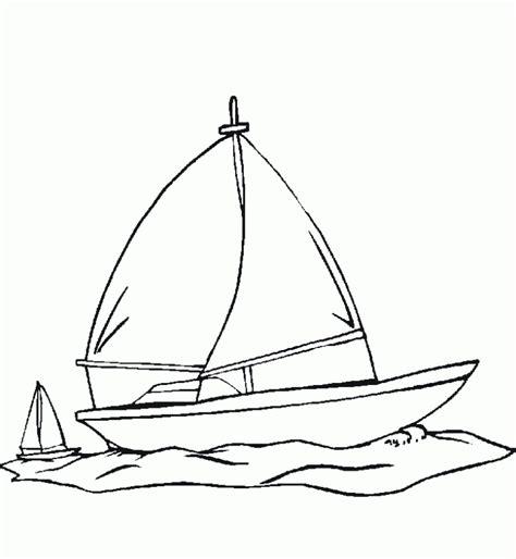 dibujo barco imprimir dibujos infantiles de un barco de vela para imprimir y
