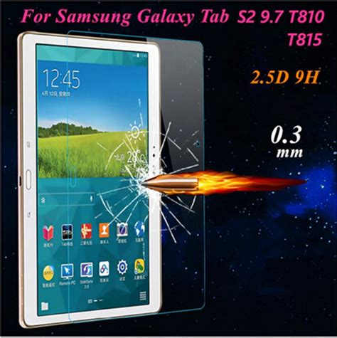 Samsung Galaxy Tab A 8 0 Explosion Proof Tempered Glass Limited samsung explosion proof 9h 0 3mm screen protector tempered