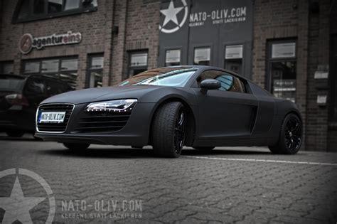 Audi R8 Schwarz Matt by Audi R8 In Schwarz Matt Mit Carbon Extras Nato Oliv