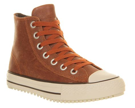 converse ctas winter boots in orange white lyst