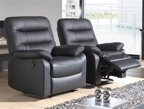 fauteuils relax fauteuil relax electrique cameo noir 3500