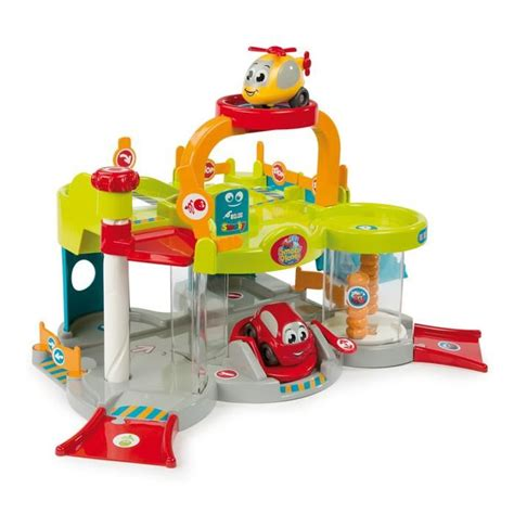 Grand Garage Vroom Planet Smoby by Garage Vroom Planet Achat Vente Jeux Et Jouets Pas Chers