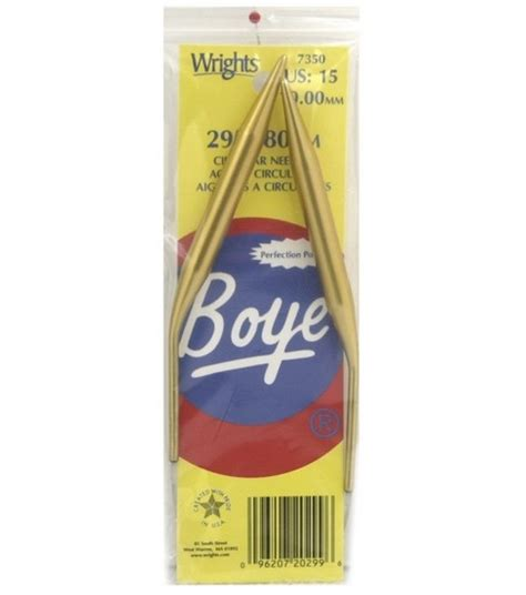 boye interchangeable circular knitting needles boye 29 quot circular aluminum knitting needles size 15 jo