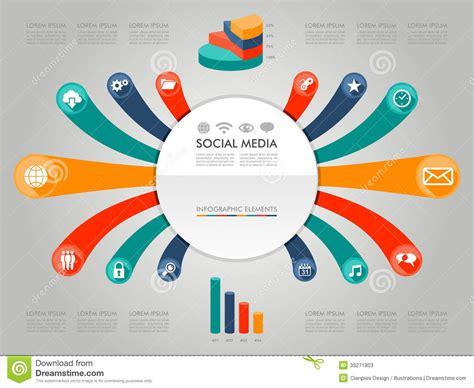 m馘iterran馥 si鑒e social ic 244 nes sociales il de media de diagramme color 233 d