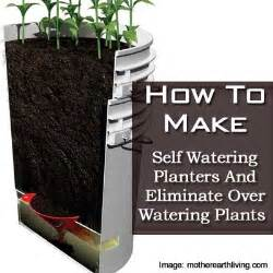 how do self watering planters work how to make self watering planters and eliminate over watering plants