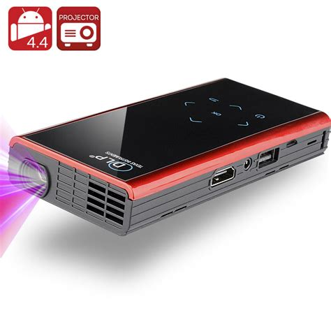 Proyektor Android 120 lumen mini android dlp projector android 4 4