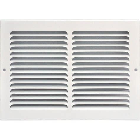 speedi grille 14 in x 8 in return air vent grille white
