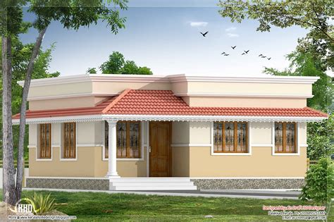Small Home Decor Kerala Style 2 Bedroom Small Villa In 740 Sq Ft Kerala