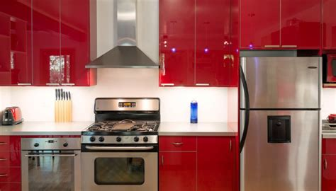 red kitchen cabinet red kitchen cabinet design quicua com