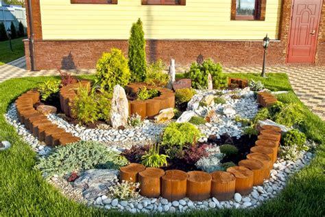 decoracion de jardin con piedras piedras decorativas para jard 237 n ideas originales