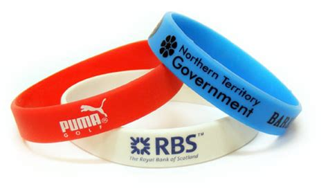 SILICONE WRISTBANDS   Screen Printed Silicone Wristband Bracelets   Rubber Wristbands in any PMS