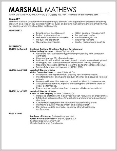 It Director Resume Sle by Sle Resume Of Executive Assistant To Managing Director