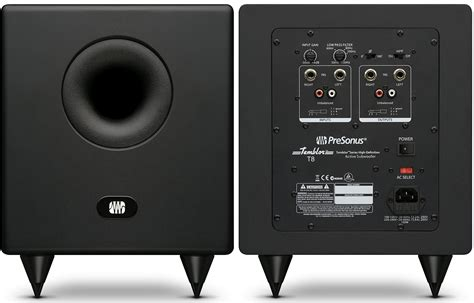 Best Home Design Software Reviews by Presonus Temblor T8 Studio Subwoofer Review The Wire Realm