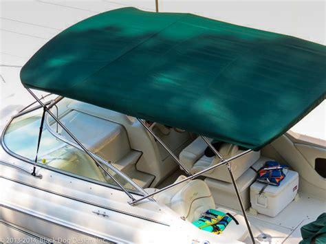 ski boat bimini covers ski boat bimini tops black dog design inc