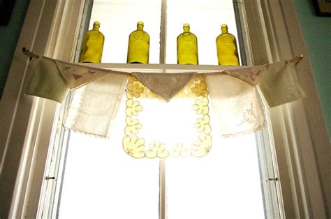 etsy kitchen curtains kitchen curtain one of a shabby chic my house