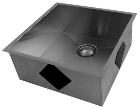 stainless steel kitchen sinks cheap stainless steel undermount kitchen sink with square
