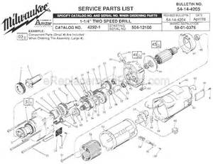milwaukee drill diagram free wiring diagram images