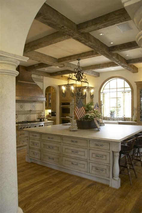 french country kitchen island 20 country kitchens with character decoholic