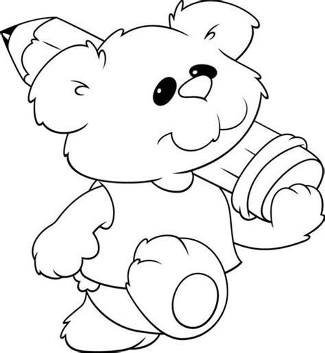 imagenes de ositos tiernos para dibujar a lapiz dibujos a lapiz de osos tiernos imagui