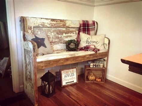 change   door  bench diy crafts