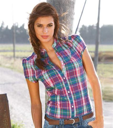 imagenes de blusas vaqueras oferta de blusas a cuadros para mujer