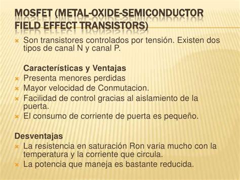 transistor mosfet ventajas y desventajas transistor darlington ventajas y desventajas 28 images fet mosfet ventajas desventajas y