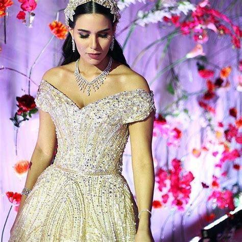 dana wolley the most luxurious wedding dress of dana wolley zayat got