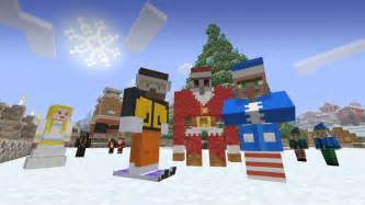 go walkin in a winter wonderland with the minecraft festive pack xbox wire