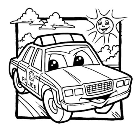 coloring pages of police cars police car coloring pages for kids enjoy coloring car