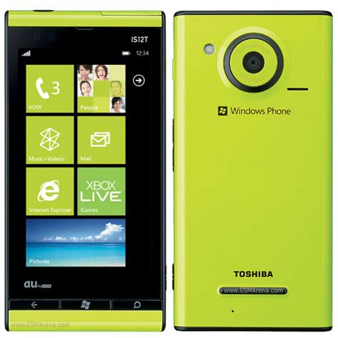 toshiba windows phone is12t pictures official photos