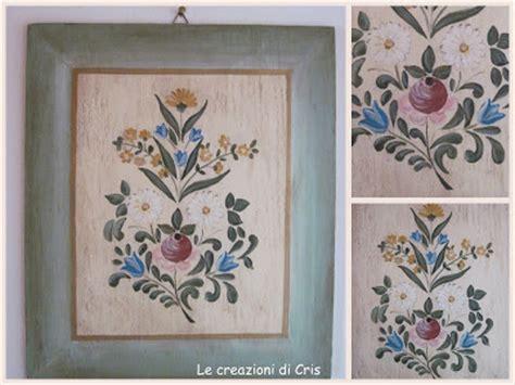 mobili decorati con fiori le creazioni di cris di tutto un p 242 tralcio di