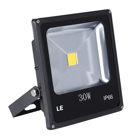 Landscape Led Flood Lights Le 30w Bright Outdoor Led Flood Lights 75w Hps Bulb Equivalent Warm White Security