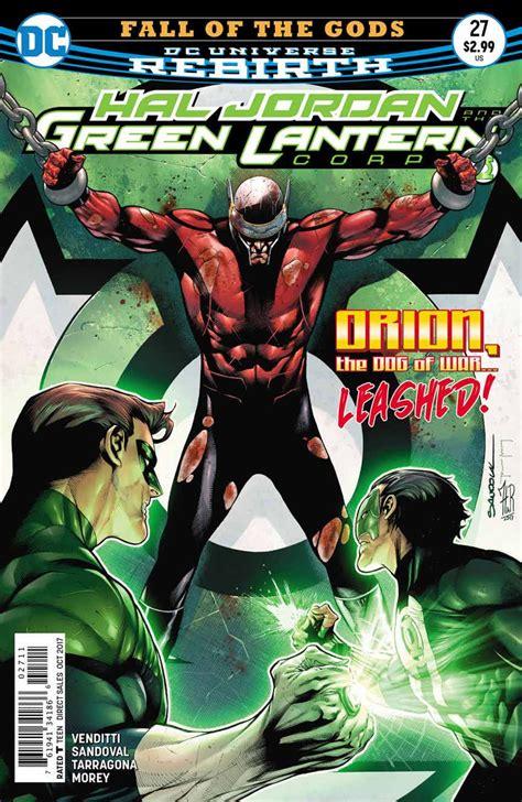 Dc Comics Hal And The Green Lantern Corps 8 January 2017 dc comics rebirth nights metal spoilers review hal the green lantern corps