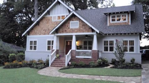 Ranch Rambler Style Home by Decatur Ranch Converted To Craftsman Bungalow Youtube