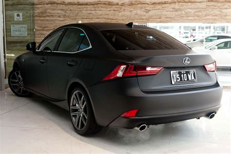 black lexus photo gallery 2014 lexus is 350 f sport in matte black