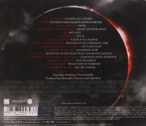 theme song eclipse twilight various artists the twilight sale r50 off your first